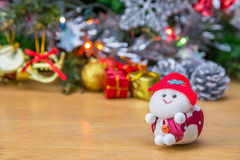 Santa doll. Royalty Free Stock Images