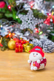 Santa doll. Royalty Free Stock Photos