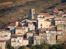 Santa Domenica Talao - przelotne spojrzenie kraj Obraz Stock
