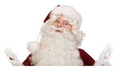 Santa don't know banner Royalty Free Stock Image