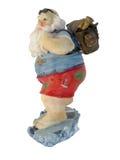 Santa Down Under Royalty Free Stock Image