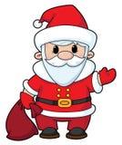 Santa drôle Illustration de Vecteur
