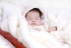 Santa durmiente Imagen de archivo libre de regalías