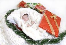 Santa durmiente Foto de archivo libre de regalías
