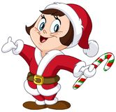 Santa dzieciak Obraz Stock