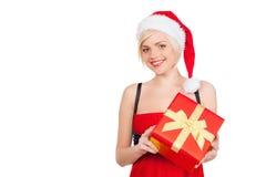 Santa dziewczyna. Obrazy Royalty Free