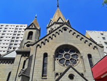 Santa Efigênia Church Stock Photography