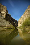 Santa Elena Canyon Royalty Free Stock Image