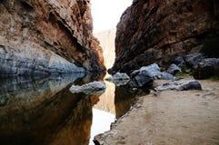 Santa Elena Canyon Royalty Free Stock Photography