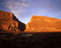 Santa Elena Canyon. In Big Bend National Park, Texas stock photos