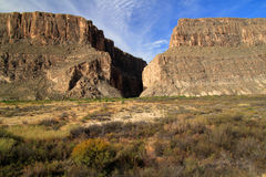 Santa Elena Canyon Royalty Free Stock Images