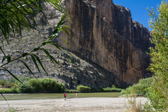 Santa Elena Canyon Royalty Free Stock Images