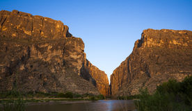 Santa Elena Canyon Royalty Free Stock Photo