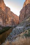 Santa Elena Canyon, parque nacional de curvatura grande fotos de stock royalty free