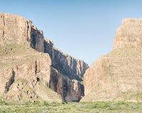 Santa Elena Canyon, Ross Maxwell Scenic Drive, parque nacional de la curva grande, TX Imagenes de archivo