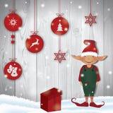 Santa Elf Photo stock