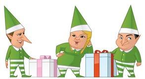 Santa elfs Stock Photo