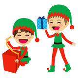 Santa Elves Helpers Royalty Free Stock Photos
