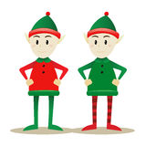 Santa Elves Stock Images