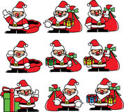 Santa emotion  Royalty Free Stock Image