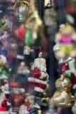 Santa en verre Images libres de droits