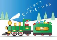 Santa Engine Stock Photo