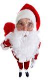 Santa engraçada Fotos de Stock Royalty Free