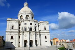 Santa Engracia cathedral in Lisbon. Santa Engracia cathedral in Alfama district, Lisbon, Portugal royalty free stock photo