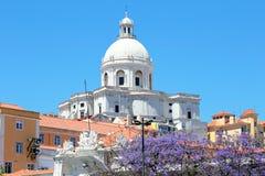 Santa Engracia kościół lub Krajowy panteon Lisbon, Obrazy Stock