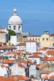 Santa Engracia National Pantheon a Lisbona, Portogallo Fotografia Stock Libera da Diritti