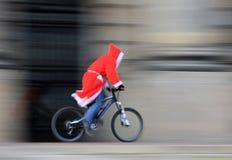 Santa está viniendo Imagenes de archivo