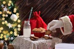 Santa est ici Photographie stock libre de droits
