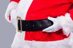Santa est ici ! Photos libres de droits