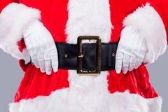 Santa est ici ! Photographie stock