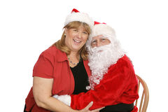 Santa et Mme Photos stock