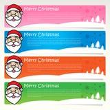 Santa etykietka Fotografia Stock
