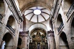 Santa Eufemia church Stock Photography