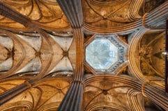 Santa Eulalia Cathedral (called Seu) interior. Stock Image
