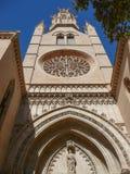 Santa Eulalia church in Palma De Mallorca Royalty Free Stock Images