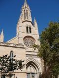 Santa Eulalia church in Palma De Mallorca Stock Photography
