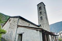 Santa Eulalia at Encamp, Andorra Stock Image