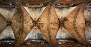 Santa Eulalia, Metropolitan Cathedral Basilica of Barcelona, Spain. Royalty Free Stock Image