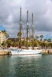 Santa Eulalia schooner in Barcelona Royalty Free Stock Photography
