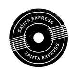 Santa Express rubber stämpel Fotografering för Bildbyråer