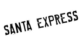 Santa Express rubber stamp Stock Image