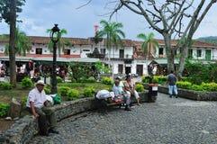 Santa Fé de Antioquia - Colômbia fotografia de stock