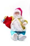 Santa fabriquée à la main Photographie stock libre de droits