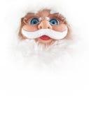 Santa face Stock Image
