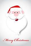 Santa Face Christmas Vetora Illustration Imagem de Stock