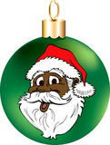 Santa Face Ornament Royalty Free Stock Image